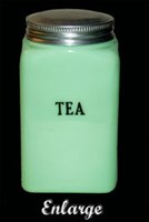 McKee Small Tea Canister TN