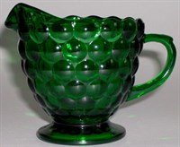 Forest Green Bubble Creamer